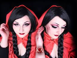 you little red riding hood makeup w tutorial by katiealves