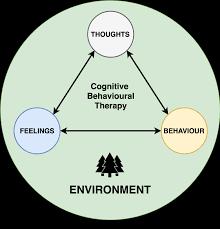 Cbt Pie Chart Cognitive Behavioural Therapy Cbt Psychdb