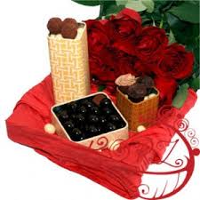 romantic gift basket to melbourne australia