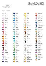Colour Charts Estrella Designs Wedding Hair Accessories