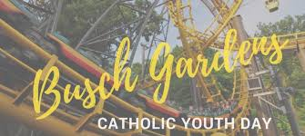 catholic youth day at busch gardens