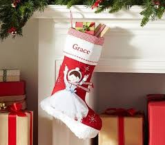 132 best Christmas Stockings images on Pinterest | Christmas ... & Ice Skater Quilted Stocking #PotteryBarnKids Adamdwight.com