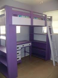 image of bunk bed loft with desk bunk beds desk drawers bunk
