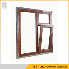 60mm frame depth 22mm insulated glass 1 4mm extruded aluminum thickness 100μ powder coating thickness excellent ventilation control
