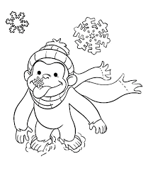 Curious George Free Coloring Pages Gyerekpalotainfo