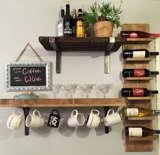 furniture wall mounted wine racks for inspiring floating shelves throughout the most awesome along with stunning