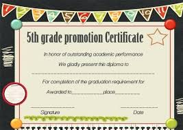 Promotion Certificate Template Promotion Certificate Template Free Templates For Students Download
