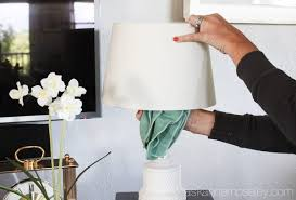 How To Clean Lamp Shades Cool The Best Way To Clean A Lampshade Ask Anna