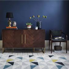 old modern furniture. Black And Dark Grey Woods Can Give Any Piece Of Furniture A Modern Finish. For Instance, The Wooden Console Table Shown Below With Herringbone Pattern Old