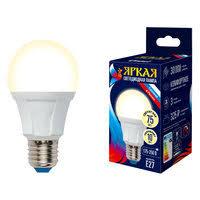 «<b>лампа светодиодная</b> 10Вт Е27 А60 груша 220В REV 2700K ...