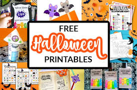 155 halloween printable coloring pages for kids. Free Halloween Printables Made With Happy