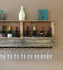 Reclaimed Wood Wine Cabinet Large Salvaged Wood Wine Rack With Shelf Home Kitchen Pantry