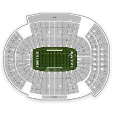 Northwestern University Football Stadium Seating Chart Beaver Stadium Seating Chart Map Seatgeek