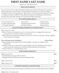 Cdl Owner Operator Sample Resume Custom Free Resume Examples For Truck Drivers Together With Truck Driver