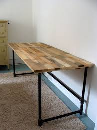diy pipe table unique salvaged wood and pipe desk by riotousdesign on 650 00 usd