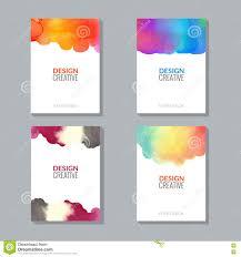 vector poster flyer templates watercolor paint splash stock vector poster flyer templates watercolor paint splash