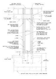 Garage Door Detail Measure Roll Up Door Opening Garage Door Jamb