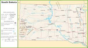 south dakota state maps  usa  maps of south dakota (sd)