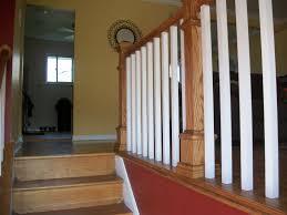 basement stairs railing. Basement Stairs Railing Post