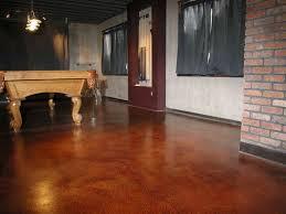Concrete Floor Paint Designs Painting Concrete Patio Floor - Painted basement floor ideas