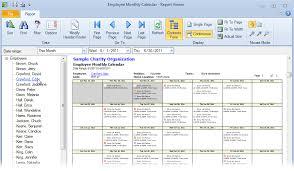 Monthly Calendar Schedule Employee Monthly Work Schedule Template Excel Topgradeacai Org