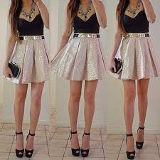 Image result for high waisted skirts