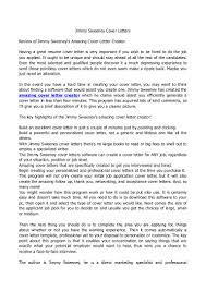 Resume Examples Templates How To Create Jimmy Sweeney Cover Letters