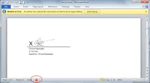 How To Digitally Sign A Word Document Ihu Itc Department