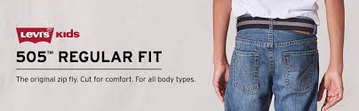 Levis Husky Size Chart Levis Boys 505 Regular Fit Jeans