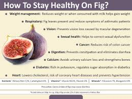 a few of the health benefits derived from figs include