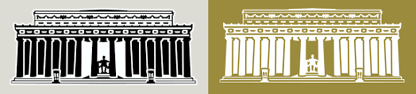 lincoln memorial building clipart. x16d110 lincoln memorial building clipart a
