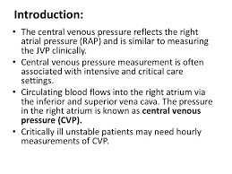 Central Venous Pressure Measurements Central Venous Line Cvl And Central Venous Pressure Cvp