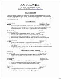 Student Resume Examples Little Experience Resume With No Work Experience College Student Elegant College