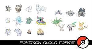 Pokemon Alola Forms - YouTube