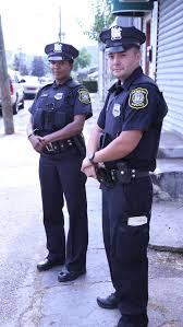 the new american cop smarter more diverse better equipped and officers crystal reed left and steven almeida of the newark police department are both in the first months of their careers as officers patrolling the