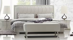 Charming Modern Leatherette Bed Bedroom Design Ideas with Leather Bed