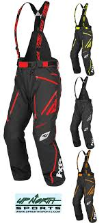 Fxr Bibs Size Chart Fxr Mission X Pant At Up North Sports Snowmobile Pants