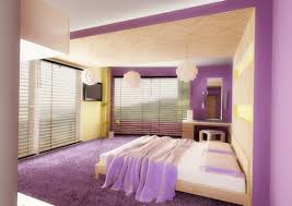 ... Best Choices Color Schemes For Girls Bedrooms : Gorgeous Purple Edge  Color Scheme For Girls Bedroom ...