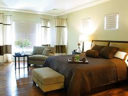 simple uncluttered bedroom