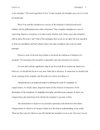 english classic literature essay sample mla metaphors