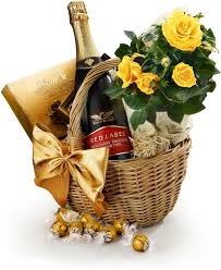 the roses chocolate sparkling wine her