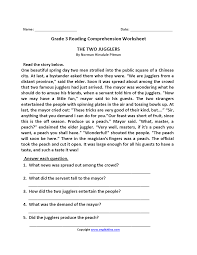 Free printable 3rd grade english daily language review worksheets for third grade students to learn and practice past, present, future sentences, grammar, antonym, opinion or fact. Two Jugglers Third Grade Reading Worksheets Third Grade Reading Worksheets Comprehension Worksheets Reading Comprehension Worksheets