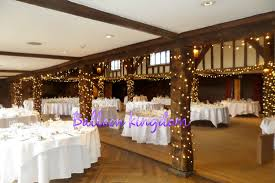 fairy lighting at great fosters egham surrey