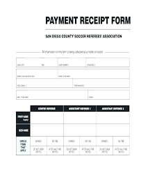 Payment Receipt Form Down Payment Receipt Form Paid Format For Cheque In Excel P
