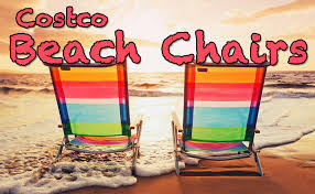 beach chairs at costco