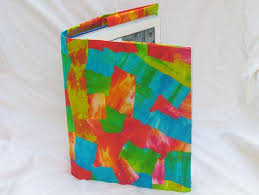 get the instructions for decoupage tie dye book cover