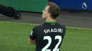 This cracking shaqiri goal vs everton (gif video below) was an absolutely marvellous finish from the swiss star in his side's clash against everton on 28 december, 2015. Goal Of The Day Shaqiri Stunner At Everton