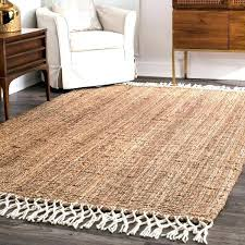 gray jute rug chunky jute rug the gray barn antelope springs and wool tassel 6 chunky gray jute rug