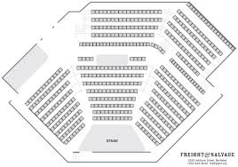 6th Street Playhouse Seating Chart Seating Chart Freight Salvage