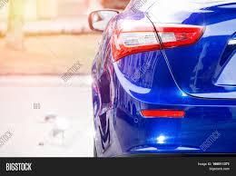 Car Body Lights Luxury Car Back Body Image Photo Free Trial Bigstock